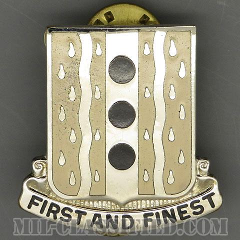 第63需品大隊(63rd Quartermaster Battalion)[カラー/クレスト(Crest・DUI・DI)バッジ/1960s/中古1点物]の画像