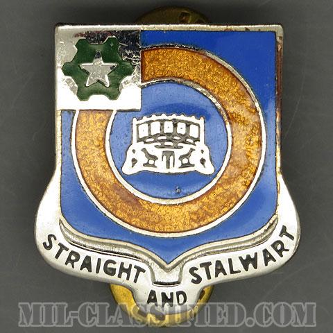 第41歩兵連隊(41st Infantry Regiment)[カラー/クレスト(Crest・DUI・DI)バッジ/1960s/中古1点物]の画像