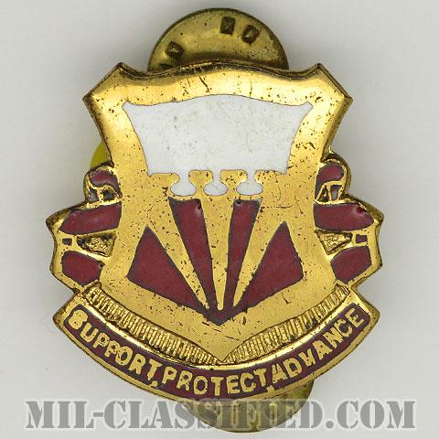 第47対空砲兵大隊(47th Anti-Aircraft Artillery Battalion)[カラー/クレスト(Crest・DUI・DI)バッジ/1950s/中古1点物]の画像