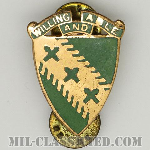 第30戦車大隊(30th Tank Battalion)[カラー/クレスト(Crest・DUI・DI)バッジ/1950s/中古1点物]の画像