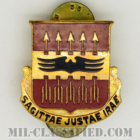第195対空砲兵大隊(195th Anti-Aircraft Artillery Battalion)[カラー/クレスト(Crest・DUI・DI)バッジ/1950s/中古1点物]の画像