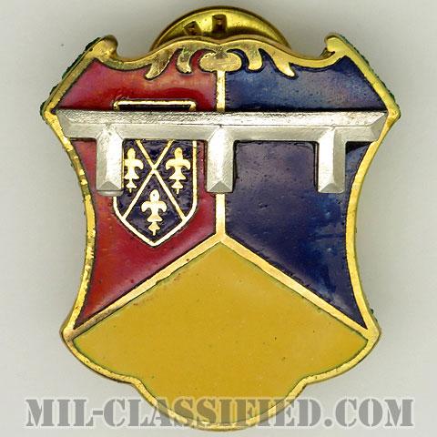 第66機甲連隊(66th Armor Regiment)[カラー/クレスト(Crest・DUI・DI)バッジ/1960s/中古1点物]の画像