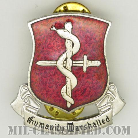 第28機甲医療大隊(48th Armored Medical Battalion)[カラー/クレスト(Crest・DUI・DI)バッジ/1960s/中古1点物]の画像