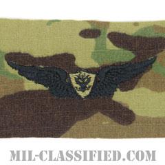 航空機搭乗員章 (ベーシック・エアクルー)(Army Aviation Badge (Aircrew), Basic)[OCP/パッチ]の画像