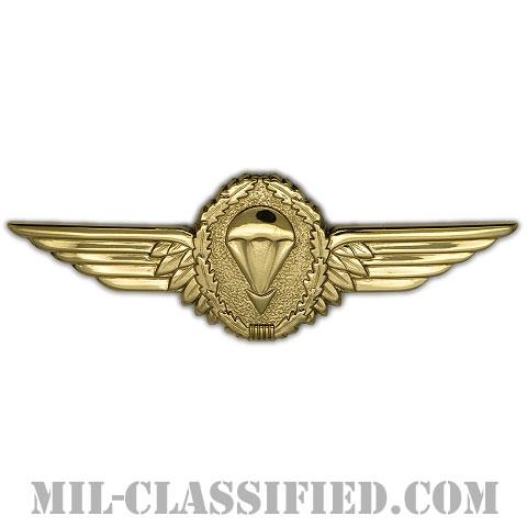 ドイツ連邦共和国軍空挺章 (ゴールド)(Parachutist Badge, Germany, Gold)[カラー/バッジ]の画像