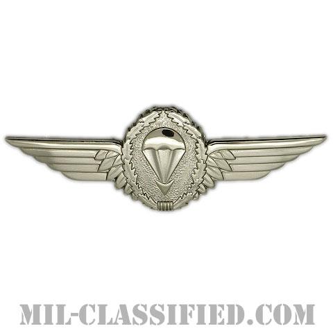 ドイツ連邦共和国軍空挺章 (シルバー)(Parachutist Badge, Germany, Silver)[カラー/バッジ]の画像