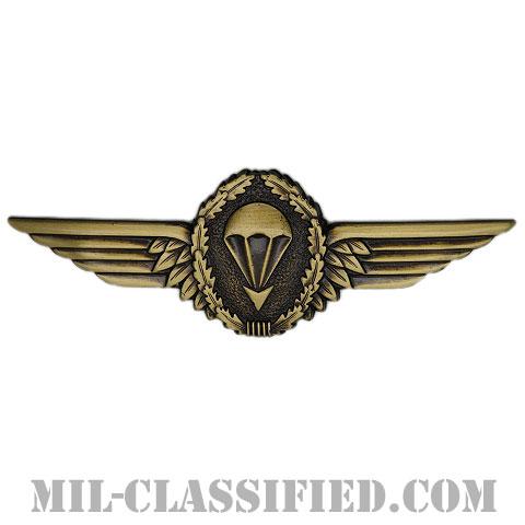 ドイツ連邦共和国軍空挺章 (ブロンズ)(Parachutist Badge, Germany, Bronze)[カラー/バッジ]の画像