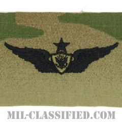 航空機搭乗員章 (シニア・エアクルー)(Army Aviation Badge (Aircrew), Senior)[OCP/パッチ]の画像