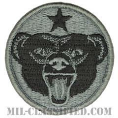 アラスカ防衛コマンド(Alaska Defense Command)[UCP(ACU)/メロウエッジ/ベルクロ付パッチ]の画像