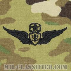 航空機搭乗員章 (マスター・エアクルー)(Army Aviation Badge (Aircrew), Master)[OCP/パッチ]の画像