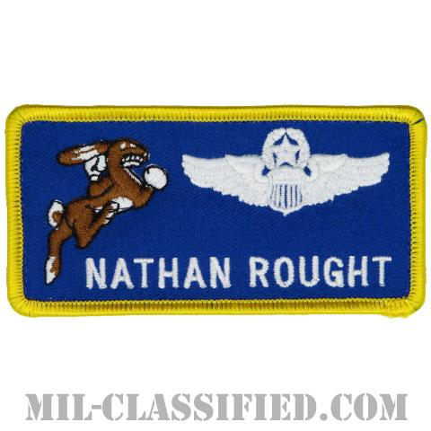 NATHAN ROUGHT (第96飛行訓練隊/航空機操縦士章(コマンド・パイロット))(96th Flying Training Squadron)[カラー/メロウエッジ/ベルクロ付パッチ]の画像