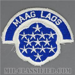 ラオス軍事援助顧問群(Military Assistance Advisory Group, Laos(MAAG-LAOS))[カラー/カットエッジ/パッチ/レプリカ]の画像