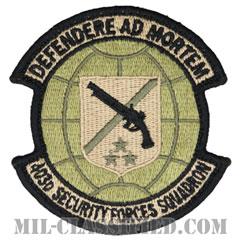 第403警備隊(403rd Security Forces Squadron)[OCP/メロウエッジ/ベルクロ付パッチ]の画像
