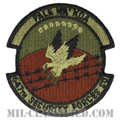 第647警備隊(647th Security Forces Squadron)[OCP/カットエッジ/ベルクロ付パッチ]の画像