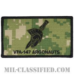 第147戦闘攻撃飛行隊(アーゴノーツ)(VFA-147 Argonauts)[NWU Type3(AOR2)/メロウエッジ/ベルクロ付パッチ]の画像