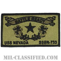弾道ミサイル原子力潜水艦ネバダ(USS Nevada, SSBN-733)[NWU Type3(AOR2)/メロウエッジ/ベルクロ付パッチ]の画像