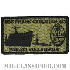 潜水母艦フランク・ケーブル(USS Frank Cable, AS-40)[NWU Type3(AOR2)/メロウエッジ/ベルクロ付パッチ]の画像