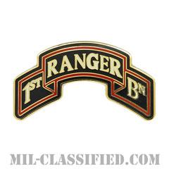 第75レンジャー連隊第1大隊(1st Battalion, 75th Ranger Regiment)[カラー/CSIB/ASU用バッジ]の画像