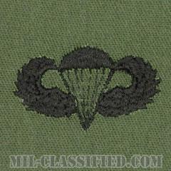 空挺章 (ベーシック)(Parachutist Badge, Basic)[サブデュード/パッチ]の画像