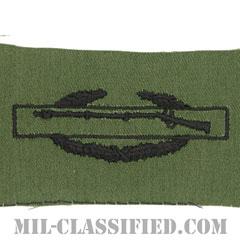 戦闘歩兵章 (ファースト)(Combat Infantryman Badge (CIB), First Award)[サブデュード/パッチ]の画像