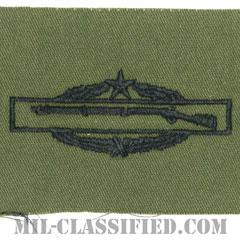 戦闘歩兵章 (セカンド)(Combat Infantryman Badge (CIB), Second Award)[サブデュード/パッチ]の画像