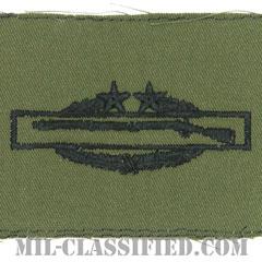 戦闘歩兵章 (サード)(Combat Infantryman Badge (CIB), Third Award)[サブデュード/パッチ]の画像