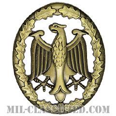 ドイツ連邦共和国軍 軍事能力章/軍事熟練章 (ブロンズ)(German Armed Forces Badge for Military Proficiency, Bronze)[カラー/バッジ]の画像