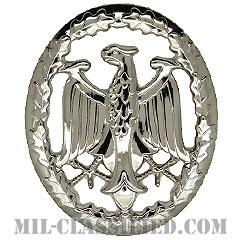 ドイツ連邦共和国軍 軍事能力章/軍事熟練章 (シルバー)(German Armed Forces Badge for Military Proficiency, Silver)[カラー/バッジ]の画像