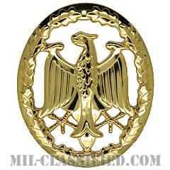 ドイツ連邦共和国軍 軍事能力章/軍事熟練章 (ゴールド)(German Armed Forces Badge for Military Proficiency, Gold)[カラー/バッジ]の画像