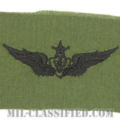 航空機搭乗員章 (シニア・エアクルー)(Army Aviation Badge (Aircrew), Senior)[サブデュード/パッチ]の画像