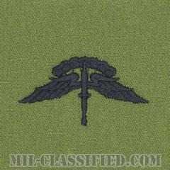 自由降下章 (ベーシック) (Military Freefall Parachutist Badge, HALO, Basic)[サブデュード/パッチ]の画像
