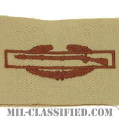 戦闘歩兵章 (ファースト)(Combat Infantryman Badge (CIB), First Award)[デザート/パッチ]の画像