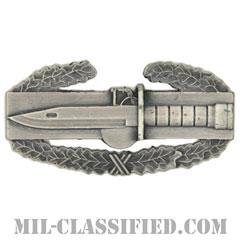 戦闘行動章(Combat Action Badge (CAB))[カラー/燻し銀/バッジ]の画像