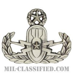 爆破物処理章 (マスター) (Explosive Ordnance Disposal (EOD), Badge, Master)[カラー/燻し銀/バッジ]の画像