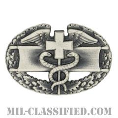 戦闘医療章 (ファースト)(Combat Medical Badge (CMB), First Award)[カラー/燻し銀/バッジ]の画像