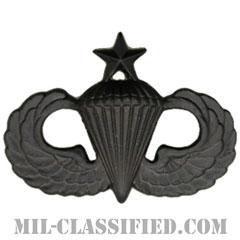 空挺章 (シニア)(Parachutist Badge, Senior, Senior)[サブデュード(ブラックメタル)/バッジ]の画像