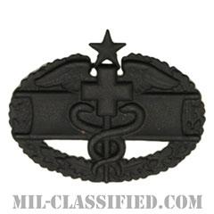 戦闘医療章 (セカンド)(Combat Medical Badge (CMB), Second Award)[サブデュード(ブラックメタル)/バッジ]の画像