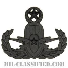爆破物処理章 (マスター) (Explosive Ordnance Disposal (EOD), Badge, Master)[サブデュード(ブラックメタル)/バッジ]の画像