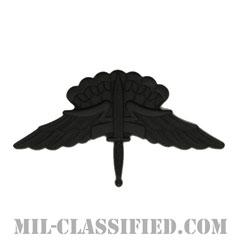 自由降下章 (ベーシック) (Military Freefall Parachutist Badge, HALO, Basic)[サブデュード(ブラックメタル)/バッジ]の画像