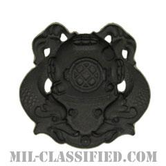 潜水員章 (1級)(Diver Badge, First Class)[サブデュード(ブラックメタル)/バッジ]の画像