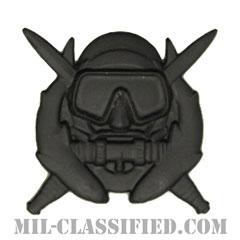 特殊作戦潜水員章(Diver Badge, Special Operations Diver)[サブデュード(ブラックメタル)/バッジ]の画像