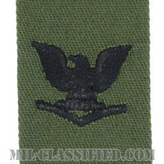 三等兵曹(Petty Officer Third Class)[サブデュード/海軍階級章/生地テープパッチ/ペア(2枚1組)]の画像
