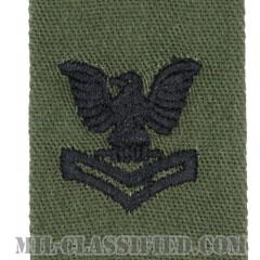 二等兵曹(Petty Officer Second Class)[サブデュード/海軍階級章/生地テープパッチ/ペア(2枚1組)]の画像