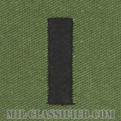 中尉(Lieutenant Junior Grade)[サブデュード/海軍階級章/生地テープパッチ/ペア(2枚1組)]の画像