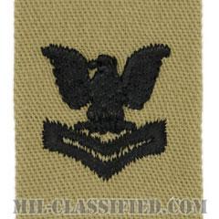 二等兵曹(Petty Officer Second Class)[デザート/海軍階級章/生地テープパッチ/ペア(2枚1組)]の画像