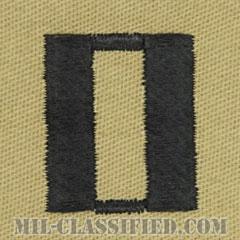 大尉(Lieutenant)[デザート/海軍階級章/生地テープパッチ/ペア(2枚1組)]の画像