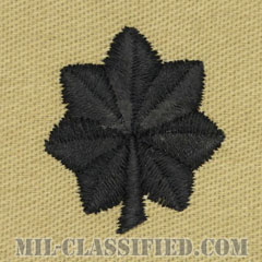 中佐(Commander)[デザート/海軍階級章/生地テープパッチ/ペア(2枚1組)]の画像