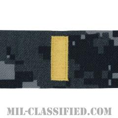 少尉(Ensign)[NWU Type1/襟用階級章/生地テープパッチ/ペア(2枚1組)]の画像