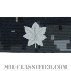中佐(Commander)[NWU Type1/襟用階級章/生地テープパッチ/ペア(2枚1組)]の画像
