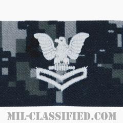 二等兵曹(Petty Officer Second Class)[NWU Type1/キャップ用階級章/生地テープパッチ]の画像